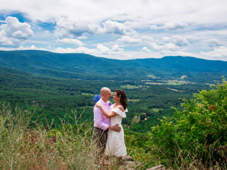 Elopement in Shenandoah National Park - Mike and Kristi
