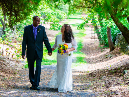 Getting Married at Blandy Farm : Arboretum - James and Elyce