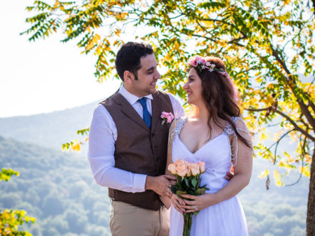 Elope at Shenandoah National Park in Virginia