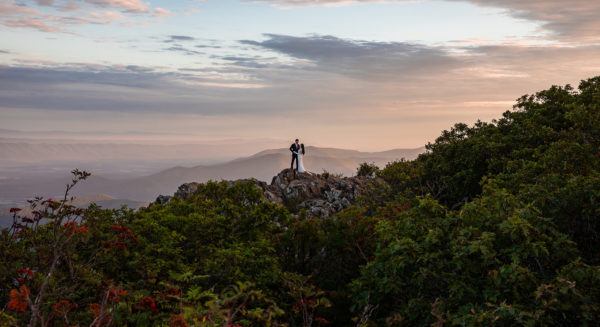 Get Married at Sunrise on a Mountain in Virginia