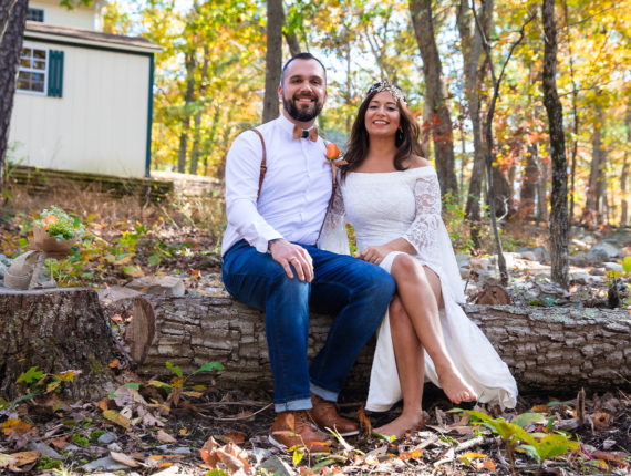 Get Married in the Quiet Woods of Winchester Virginia
